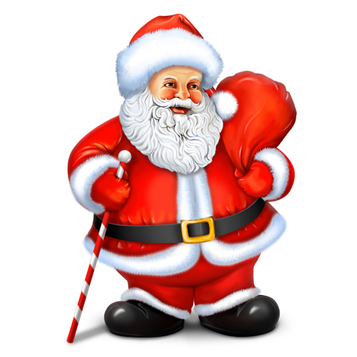 иконка santa, санта, новый год, санта клаус, рождество,