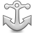 иконки anchor, якорь,