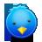иконки bird, twitter, птичка, птица, твиттер,
