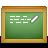 иконки chalkboard, доска, классная доска,