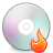 иконки burning, disc, диск,