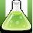 иконки flask, колба, химия,