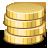 иконка money, деньги, золото,
