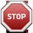 иконки stop, стоп, стоп сигнал,