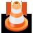 иконка traffic cone, traffic, конус,