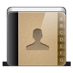 иконка Address, book, записная книжка, адресная книжка, контакты,