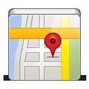 иконки  map, google map, карта,