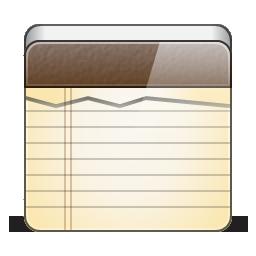 иконка notepad, блокнот, note, записка,