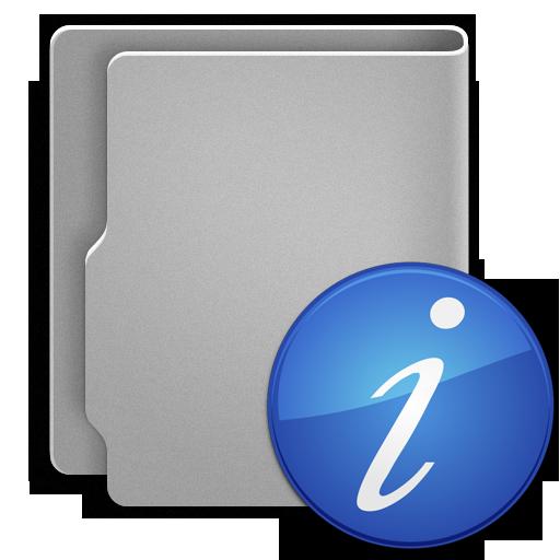 иконки папка, folder, информация, information,