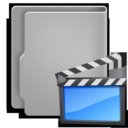 иконки  папка, folder, movie, movies, видео,