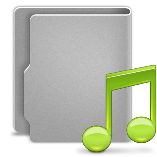 иконки папка, folder, музыка, нота, music,