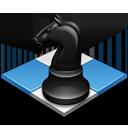 иконка конь, шахматы,