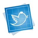 иконки blueprint, social, twitter, твиттер,