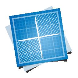 иконка blueprint, social, delicious,