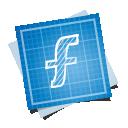 иконки blueprint, social,