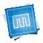 иконка blueprint, social,