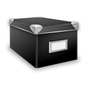 иконки closed, box, закрытая коробка, ящик,