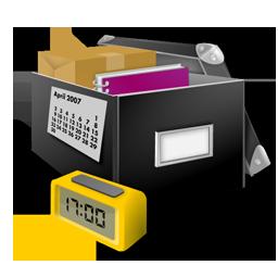 иконки applications, box, коробка, приложения, документы,