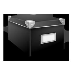 иконка closed, box, закрытая коробка, ящик,