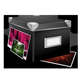 иконки pictures, изображение, изображения, коробка, box,