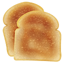 иконки toast, тост, хлеб,