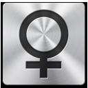 иконка female, женщина,