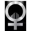 иконки female, женщина,