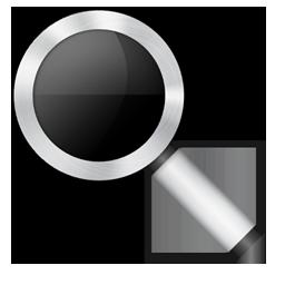 иконка magnifier, лупа,