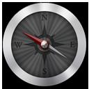 иконка navigation, навигация, компас,