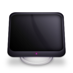 иконки display, monitor, дисплей, монитор,