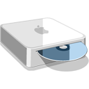 иконка Mac Mini, apple, диск,