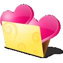 иконки bookmarks, favorite, favourite, folder, love, закладки, любимые, папка, сердце, любовь,