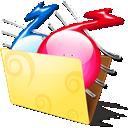 иконки folder, music, папка с музыкой, музыка, папка,