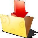 иконки folder, downloads, загрузка, папка,