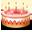 иконка cake, торт,