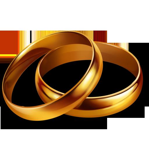 иконки rings, обручальные кольца, свадьба,