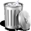 иконка garbage, trash, мусор, мусорный бак, полный бак,