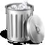 иконки garbage, trash, мусор, мусорный бак, полный бак,