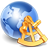 иконки globe, глобус, земной шар, земля, планета, интернет,