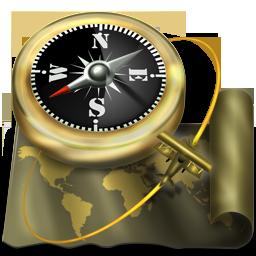иконки explorer, проводник, компас,
