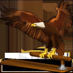 иконки  thunderbird, животное, птица, орел,