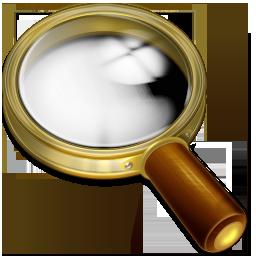 иконка recherche, поиск, лупа,