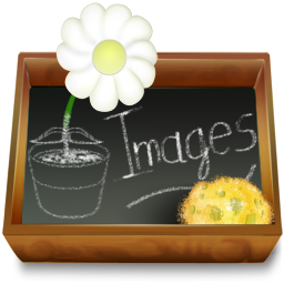иконки  папка, изображения, folder, images,