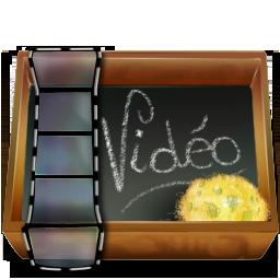 иконка папка, видео,