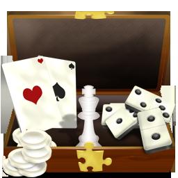 иконки dossier jeux, игры, папка игр, карты,