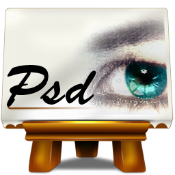 иконка fichiers psd, psd файлы,