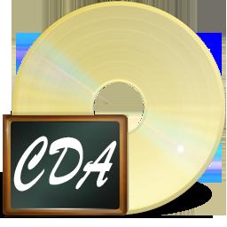 иконки fichiers CDA, CDA файлы,
