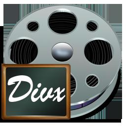 иконка fichiers divx, divx файлы,