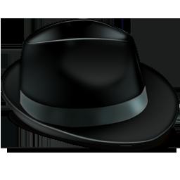 иконки Borsalino, шляпа,