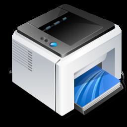 иконки принтер, printer, факс, fax,